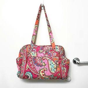 Vera Bradley Pink Paisley Swirl Baby/Diaper Bag